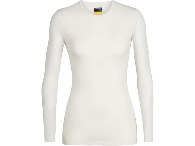 Icebreaker 175 Everyday Koszulka z długim rękawem Kobiety, snow